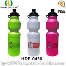 Garrafa de água de esportes de logotipo personalizado PE livre de BPA (HDP-0450)