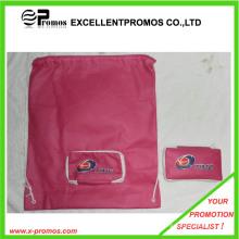Рекламные подгонянные логос Складные сумки Drawstring (EP-B7141)