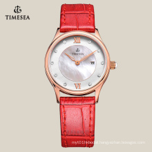 Business Watch for Ladies with Genuine Leather Band 71078