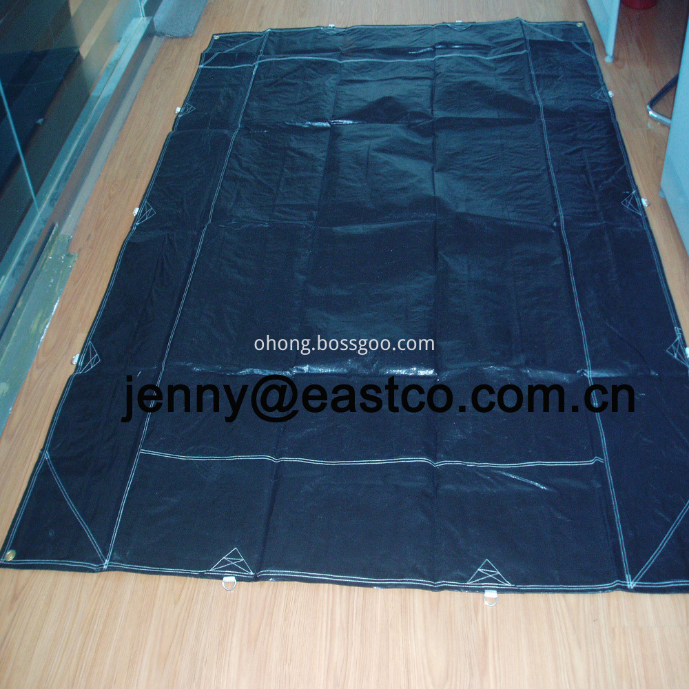 Custom D-Rings Truck Trailer Cover Tarpaulin