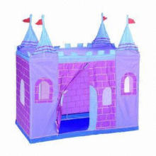 Castle Play Tents, Easy Access to Clean or Pack-up the Play Tent, Available in Various Colors