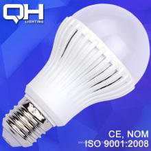 SMD 5730 9W LED bulbo plástica luminária