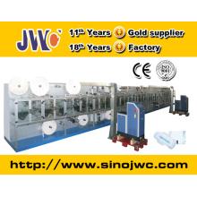 Máquina de embalagem individual para almofadas de guardanapo sanitárias para senhora