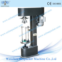 Tapa metálica semiautomática que tapa la tapa tapando la máquina