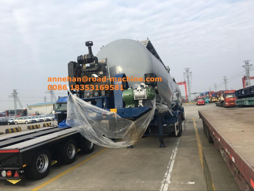 Sinotruk Cimc Particle Material Transport Trailer