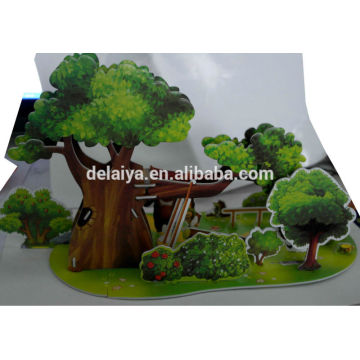 DIY educational toy 3D puzzle for kids