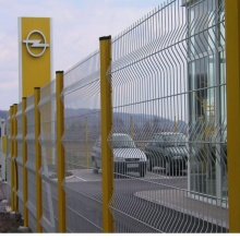 New Fashion Design for for Triangle 3D Fence Office Buildings Pre- galvanized  3D Panel Fence export to Cameroon Importers