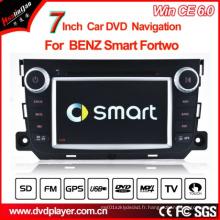 Lecteur DVD Windows Ce Car pour Benz Smart Fortwo GPS DVD Navigation Hualingan