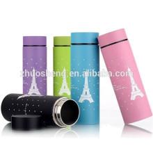 Yongkang direto tubular inox vacuum flask parede dupla