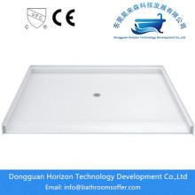 Big discounting for Acrylic Shower Trays,Square shower tray,Rectangle Shower Trays,White Shower Tray ,Sector shower tray,antiskid shower tray Manufacturer in China Modern bathroom corner bath shower tray supply to Indonesia Manufacturer