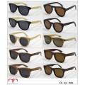 2016 nuevas gafas de sol de bambú y de madera con la lente polarizada (WS001-WS020)