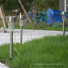 Солнечный светодиодный светильник для газона Использование солнечного света