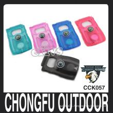 chongfu customized logo LED survival card