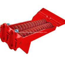 Máquina de la lavadora de la arena del tornillo doble 150-200 t / h