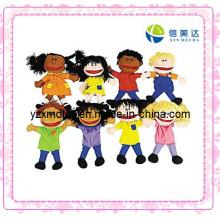 Plüsch Glückliche Kinder Handpuppen