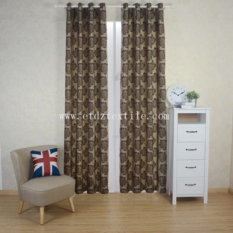 First Class Polyester Wrinkle Curtain Fabric