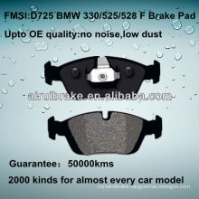 D725 OE QUALITY brake pad for BMW CALIPER PARTS