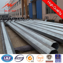 169kv 15m Steel Poles Electrical Power Pole for Transmissiontower