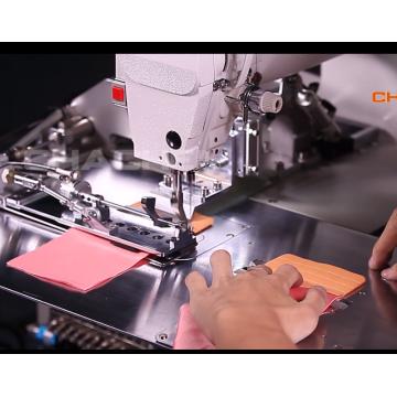 máquina de costura de alça de sutiã
