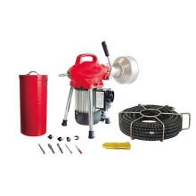 Máquina de limpeza de drenagem de esgoto D75 elétrica para venda / limpador de dreno / máquina de limpeza de drenagem
