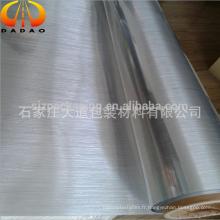 Pellicule en polyester Polyester Sliver / Gold pour étiquette de réfrigérateur