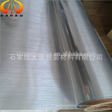 Sliver/gold brush metalized Polyester film for refrigerator label