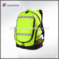 HI VIS HI VISIBILITY WORK BACKPACKS RUCKSACK Bag - 2 COLOURS BEST SELLER