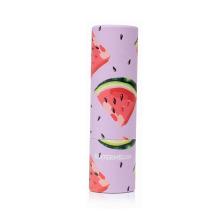 Tubo de barra de bálsamo labial nutritivo con sabor a fruta