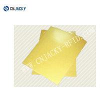 Impressão a jato de tinta PVC para fabricação de cartões com ouro / prata / branco