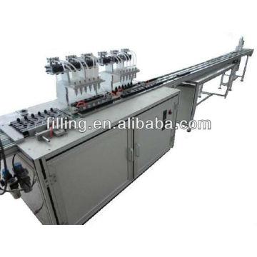Автоматическая машина для фасовки лака для ногтей