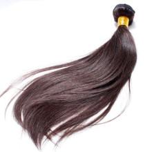 grande comprimento 16 polegadas cabelo humano, cabelo brasileiro genuíno cor # 2