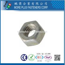 Made in Taiwan DIN439 steel Hex Jam Nut