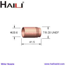 """Boquilla para soldador MIG Miller 050116 13/16 """""""