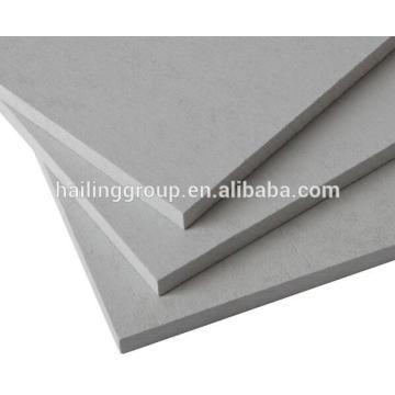 Tablero de silicato de calcio de baja densidad y ahorro de energía reforzado resistente al fuego