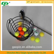 Cesta de pelota de golf de hierro