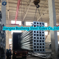 Equivalent Chinese Standard Galvanized Electric Steel Pole