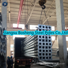 Pôle d'acier électrique galvanisé standard chinois équivalent