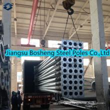 Pólo de aço elétrico galvanizado padrão equivalente chinês