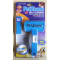 Petzoom Self Cleaning Grooming Brush with Bonus Pet Trimmer