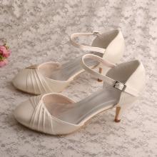 e353b24b7608 Comfortable Ladies Wedding Shoes Kitten Heel