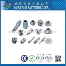 Taiwan Stainless steel 18-8 Chrome plated steel Nickel plated steel Copper Brass Special Cold Forming Parts