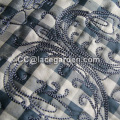 Chenille Embroidery Fabric