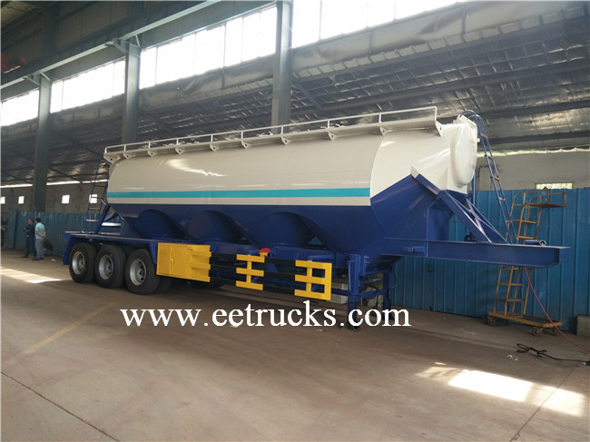 V Shaped Bulk Cement Trailers