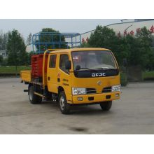 Dongfeng+mobile+scissor+lift+truck+used+for+sale
