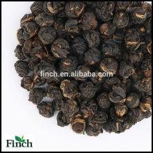 BT-012 Hong zhen zhu ou Red Pearl en gros en vrac feuille noire thé