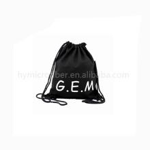 Mochila de lona de eco amigable de clase alta mochila con bajo precio