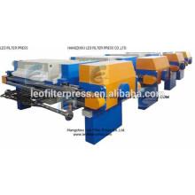 Prensa de filtro de membrana de aceite de palma totalmente automática Leo Control