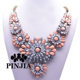 Factory Beaded Costume Imitation Crystal Necklace Fashion Jewelry