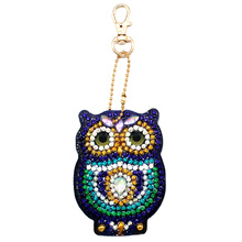 Porte-clés en forme de bague de broderie spéciale cadeaux de bijoux