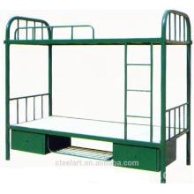 La structure de KD facile assemblent le lit superposé en métal